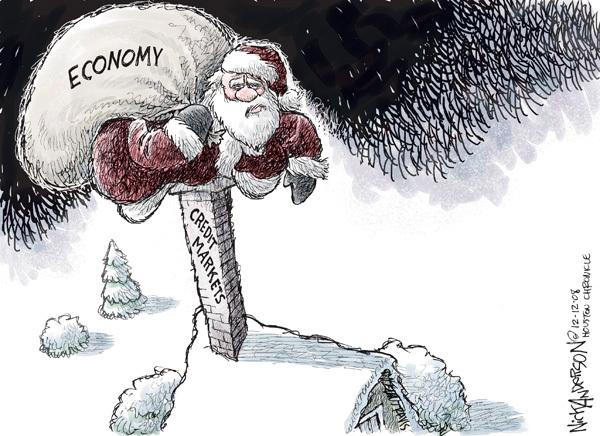 Cartoonist Nick Anderson  Nick Anderson's Editorial Cartoons 2008-12-12 recession