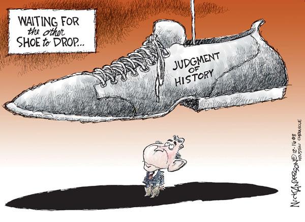 Cartoonist Nick Anderson  Nick Anderson's Editorial Cartoons 2008-12-16 judgment
