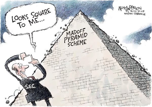 Nick Anderson  Nick Anderson's Editorial Cartoons 2008-12-21 stock market
