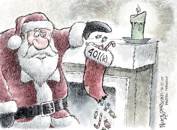 Nick Anderson  Nick Anderson's Editorial Cartoons 2008-12-25 candy