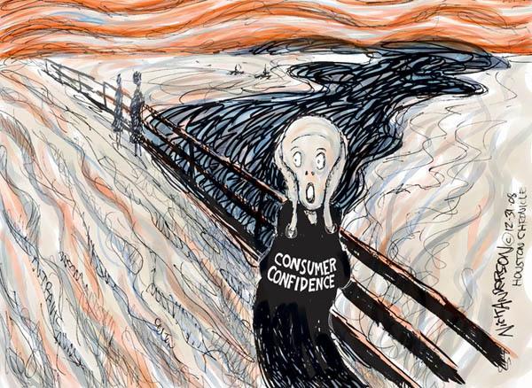 Nick Anderson  Nick Anderson's Editorial Cartoons 2008-12-31 economy