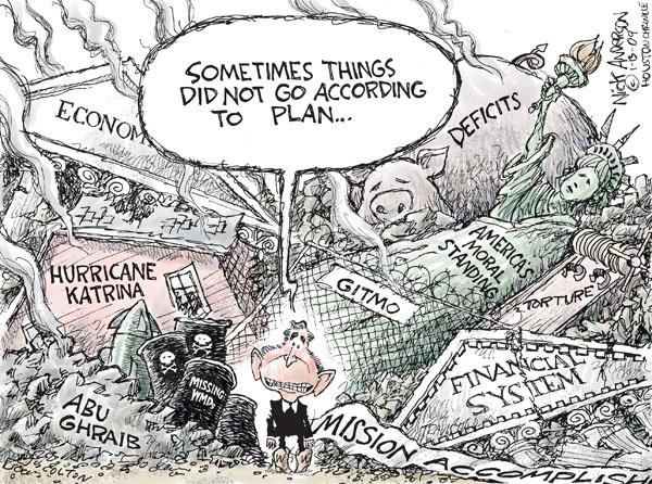 Cartoonist Nick Anderson  Nick Anderson's Editorial Cartoons 2009-01-13 recession
