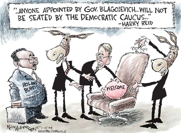 Nick Anderson  Nick Anderson's Editorial Cartoons 2009-01-15 political corruption