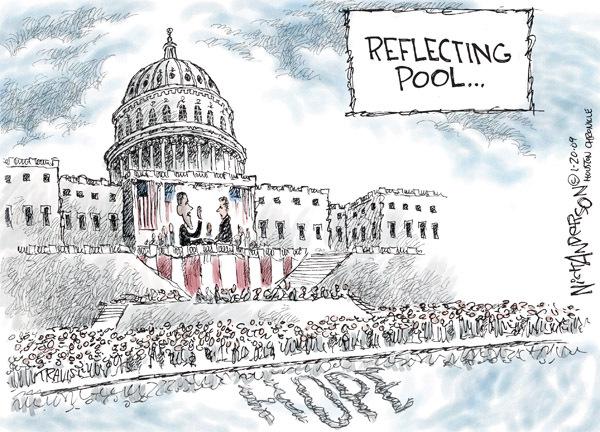 Nick Anderson  Nick Anderson's Editorial Cartoons 2009-01-20 chief