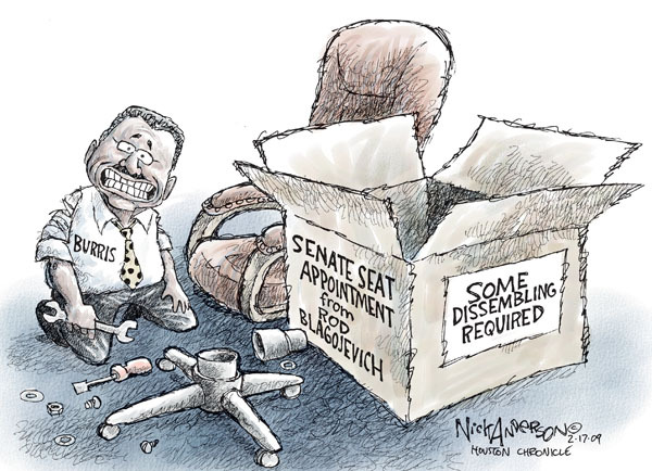 Nick Anderson  Nick Anderson's Editorial Cartoons 2009-02-17 political corruption