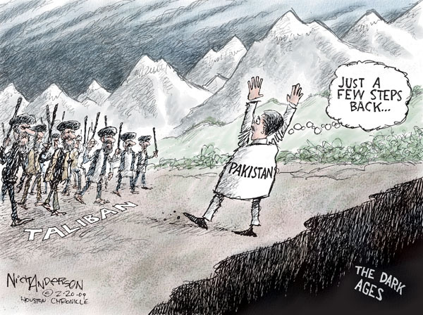 Cartoonist Nick Anderson  Nick Anderson's Editorial Cartoons 2009-02-20 Al Qaeda