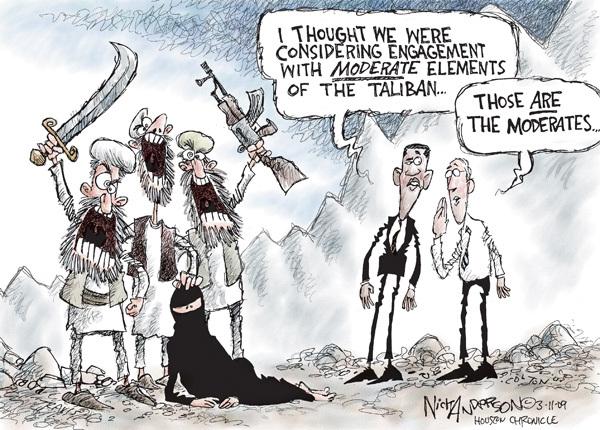 Cartoonist Nick Anderson  Nick Anderson's Editorial Cartoons 2009-03-11 weapon