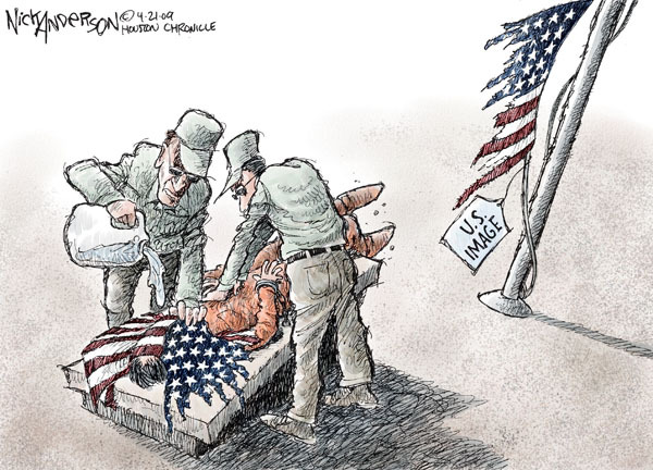 Nick Anderson  Nick Anderson's Editorial Cartoons 2009-04-21 detainee
