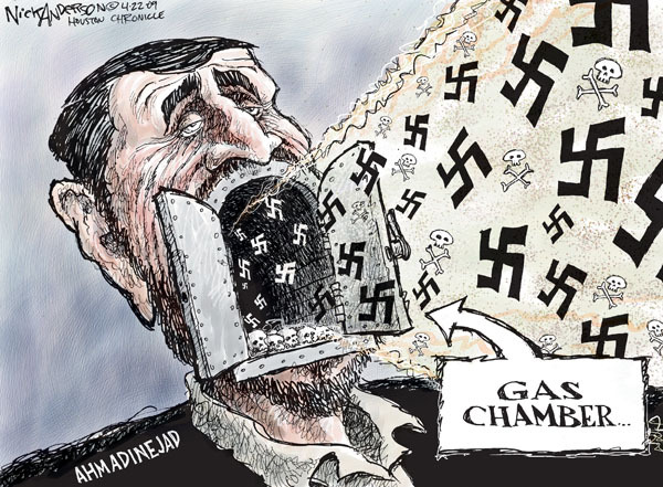 Cartoonist Nick Anderson  Nick Anderson's Editorial Cartoons 2009-04-22 Iran Israel