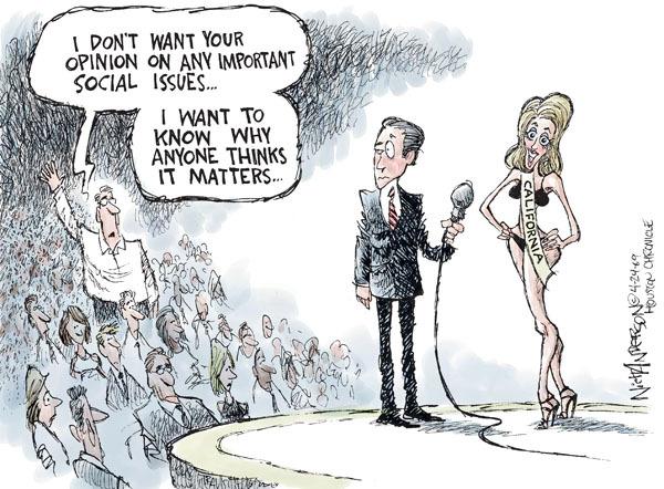 Cartoonist Nick Anderson  Nick Anderson's Editorial Cartoons 2009-04-24 don't