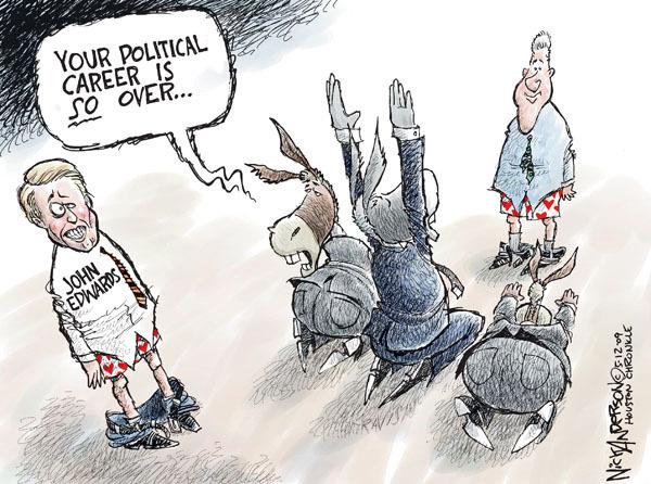 Cartoonist Nick Anderson  Nick Anderson's Editorial Cartoons 2009-05-12 Bill Clinton