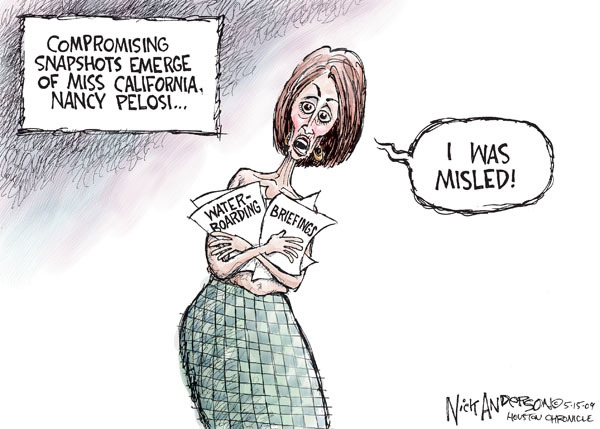 Cartoonist Nick Anderson  Nick Anderson's Editorial Cartoons 2009-05-15 compromise
