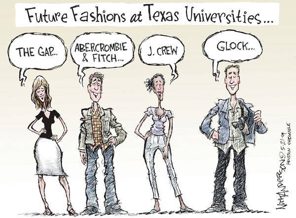 Cartoonist Nick Anderson  Nick Anderson's Editorial Cartoons 2009-05-21 college campus