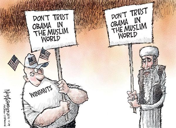 Cartoonist Nick Anderson  Nick Anderson's Editorial Cartoons 2009-06-04 policy