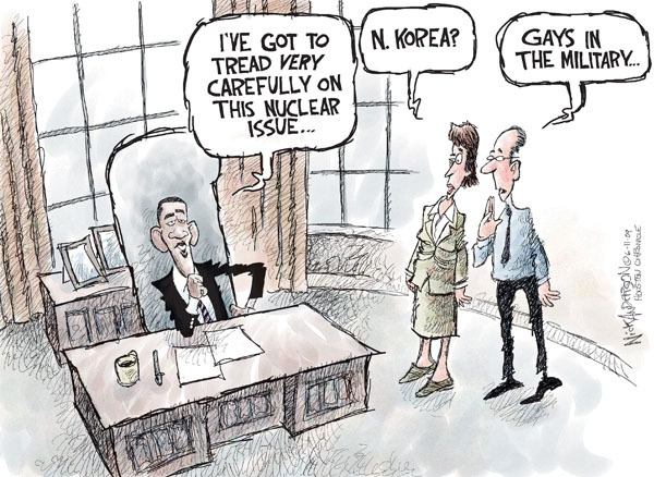 Cartoonist Nick Anderson  Nick Anderson's Editorial Cartoons 2009-06-11 armed