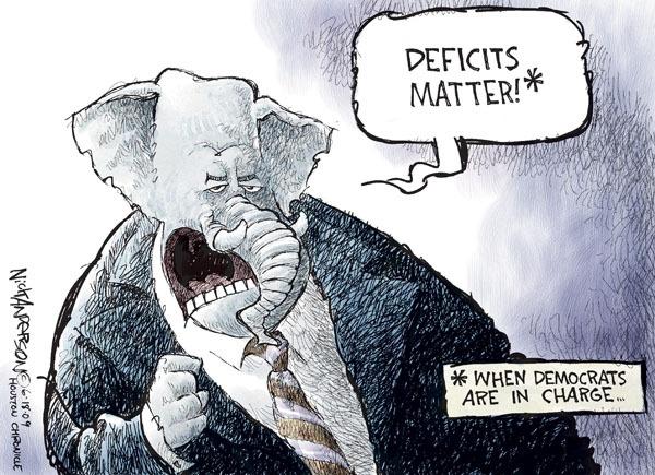 Nick Anderson  Nick Anderson's Editorial Cartoons 2009-06-18 federal budget