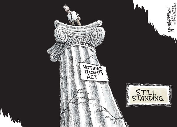 Voting Rights Act. Still standing …
