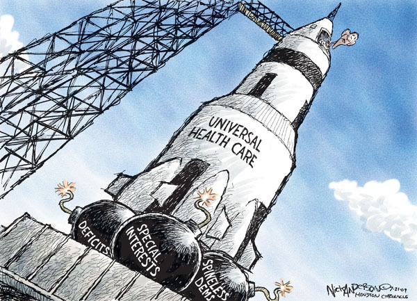 Nick Anderson  Nick Anderson's Editorial Cartoons 2009-07-21 special interest