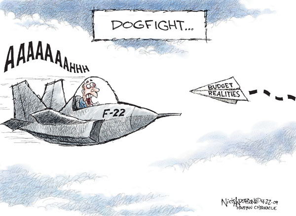 Nick Anderson  Nick Anderson's Editorial Cartoons 2009-07-22 military spending