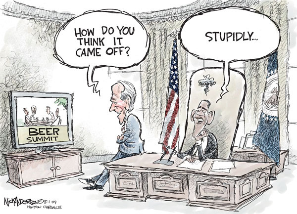 Nick Anderson  Nick Anderson's Editorial Cartoons 2009-08-01 Joe Biden