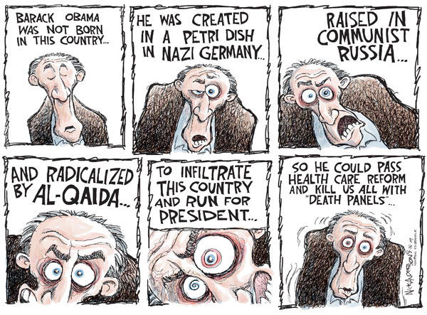 Cartoonist Nick Anderson  Nick Anderson's Editorial Cartoons 2009-08-14 Al Qaeda