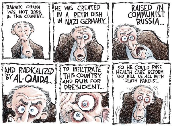 Cartoonist Nick Anderson  Nick Anderson's Editorial Cartoons 2009-08-14 euthanasia