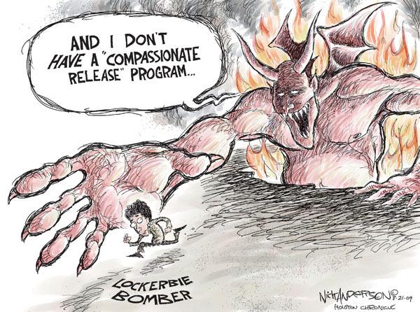 Cartoonist Nick Anderson  Nick Anderson's Editorial Cartoons 2009-08-21 bombing