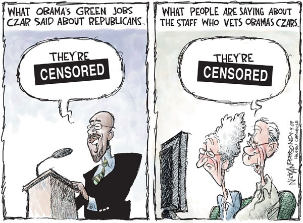 Cartoonist Nick Anderson  Nick Anderson's Editorial Cartoons 2009-09-09 background check