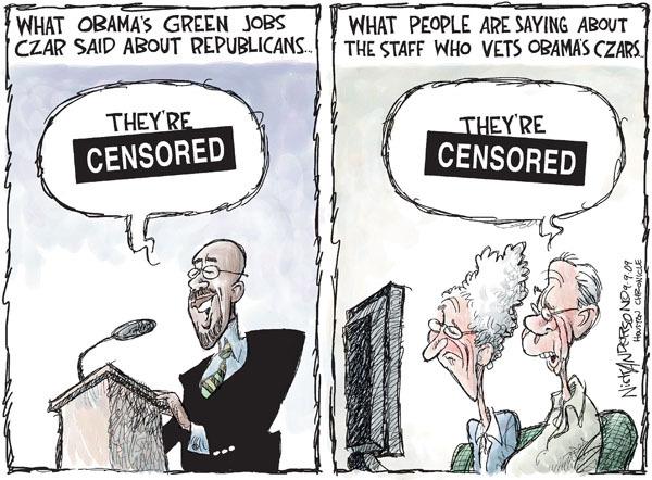 Nick Anderson  Nick Anderson's Editorial Cartoons 2009-09-09 partisan politics