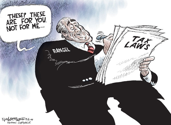 Nick Anderson  Nick Anderson's Editorial Cartoons 2009-09-16 political corruption