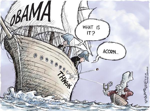 Cartoonist Nick Anderson  Nick Anderson's Editorial Cartoons 2009-09-18 republican politician