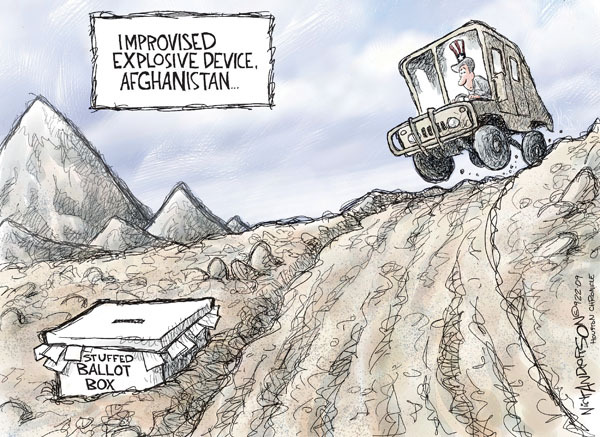 Nick Anderson  Nick Anderson's Editorial Cartoons 2009-09-22 device