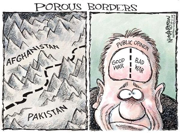 Cartoonist Nick Anderson  Nick Anderson's Editorial Cartoons 2009-10-06 Afghanistan
