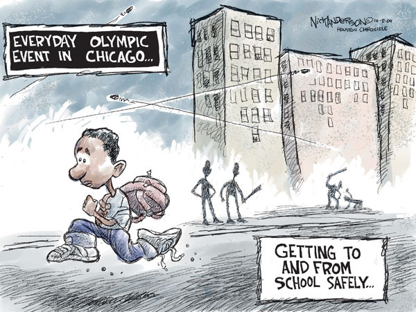 Cartoonist Nick Anderson  Nick Anderson's Editorial Cartoons 2009-10-07 Chicago