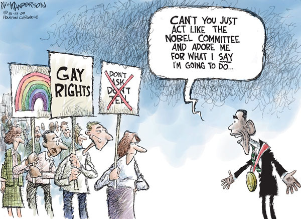 Nick Anderson  Nick Anderson's Editorial Cartoons 2009-10-14 equal rights