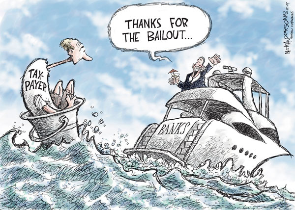 Nick Anderson  Nick Anderson's Editorial Cartoons 2009-10-15 management
