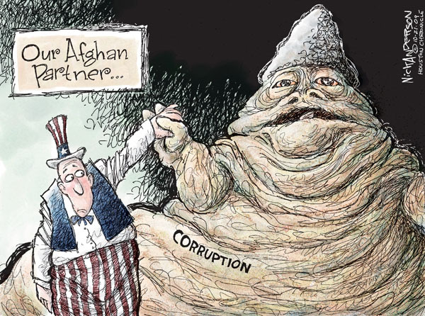 Nick Anderson  Nick Anderson's Editorial Cartoons 2009-10-21 political corruption