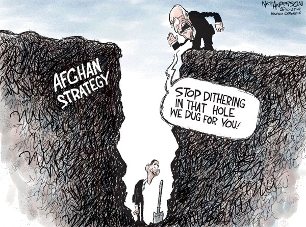 Cartoonist Nick Anderson  Nick Anderson's Editorial Cartoons 2009-10-25 Dick
