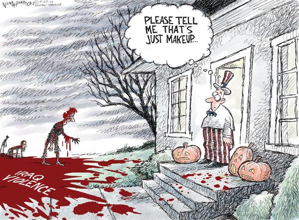 Cartoonist Nick Anderson  Nick Anderson's Editorial Cartoons 2009-10-27 bombing