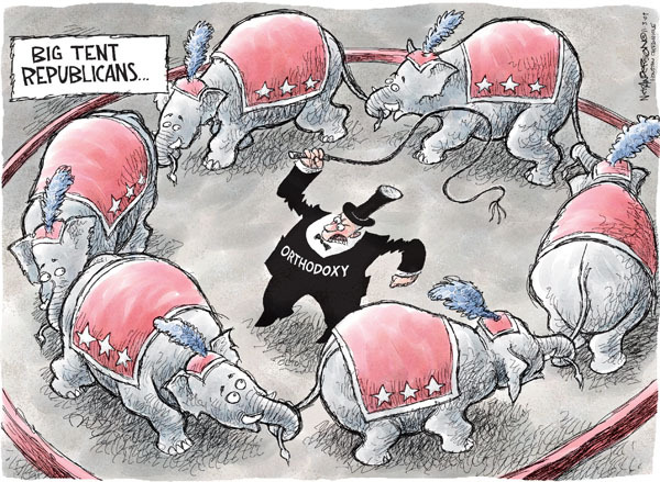 Cartoonist Nick Anderson  Nick Anderson's Editorial Cartoons 2009-11-03 republican politician