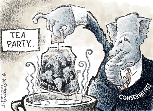 Cartoonist Nick Anderson  Nick Anderson's Editorial Cartoons 2009-11-06 republican politician