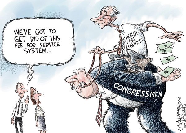 Cartoonist Nick Anderson  Nick Anderson's Editorial Cartoons 2009-11-11 political system