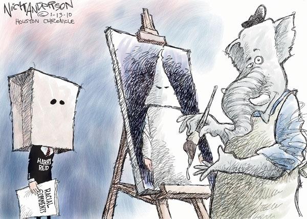 Cartoonist Nick Anderson  Nick Anderson's Editorial Cartoons 2010-01-13 republican politician