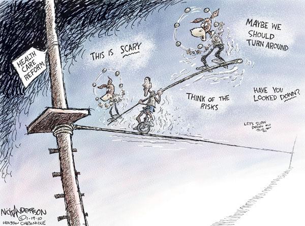 Cartoonist Nick Anderson  Nick Anderson's Editorial Cartoons 2010-01-19 health