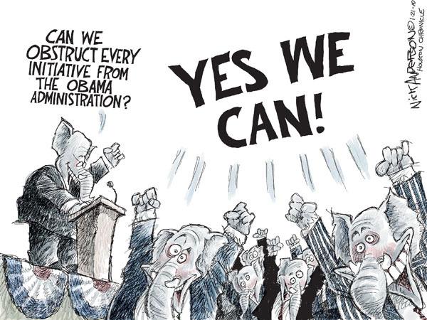 Cartoonist Nick Anderson  Nick Anderson's Editorial Cartoons 2010-01-21 republican politician