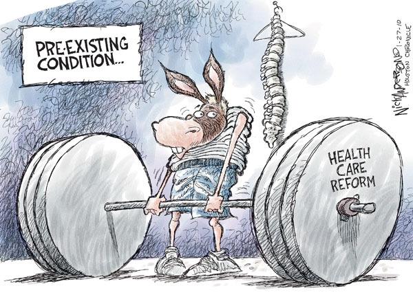 Cartoonist Nick Anderson  Nick Anderson's Editorial Cartoons 2010-01-27 health