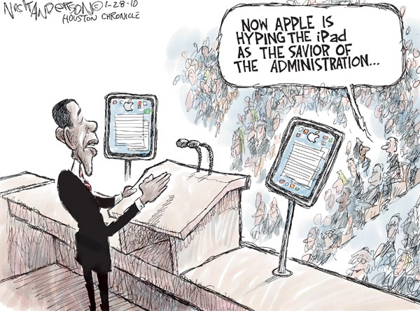 Nick Anderson  Nick Anderson's Editorial Cartoons 2010-01-27 device