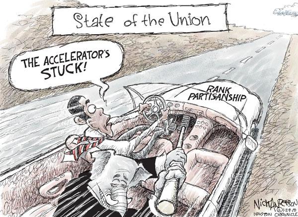 Cartoonist Nick Anderson  Nick Anderson's Editorial Cartoons 2010-01-29 republican politician