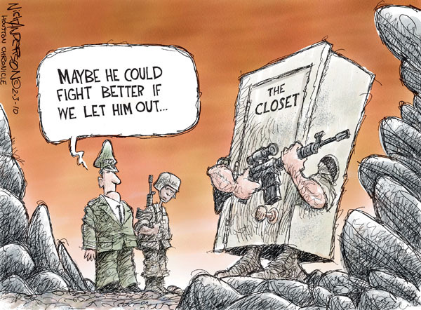 Nick Anderson  Nick Anderson's Editorial Cartoons 2010-02-03 military service