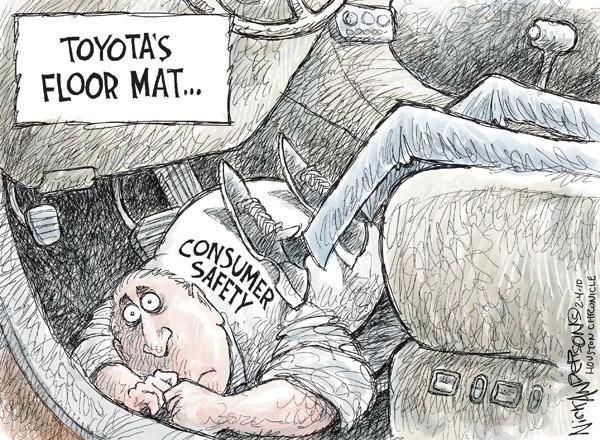 Cartoonist Nick Anderson  Nick Anderson's Editorial Cartoons 2010-02-04 automotive
